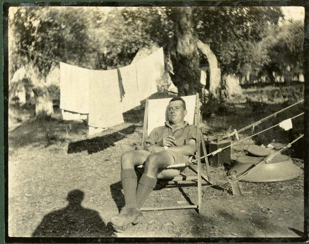 """Camp life at Thasos"""