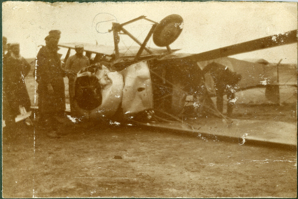 """A Greek pilot's attempt at landing"""