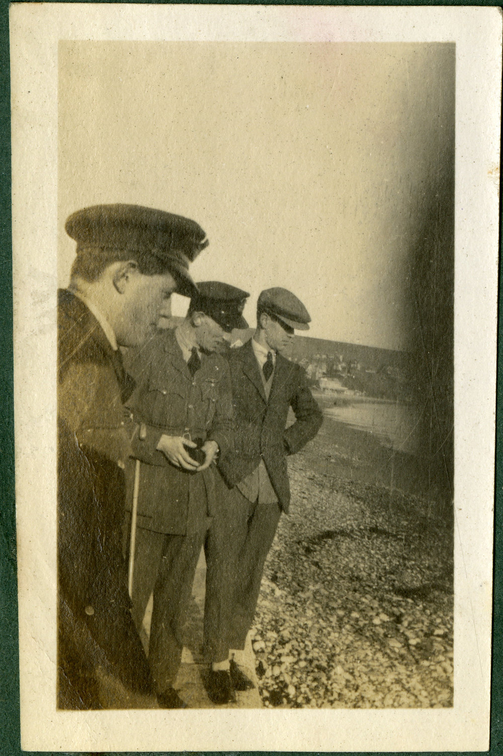 """On Swanage Beach. 1920."""