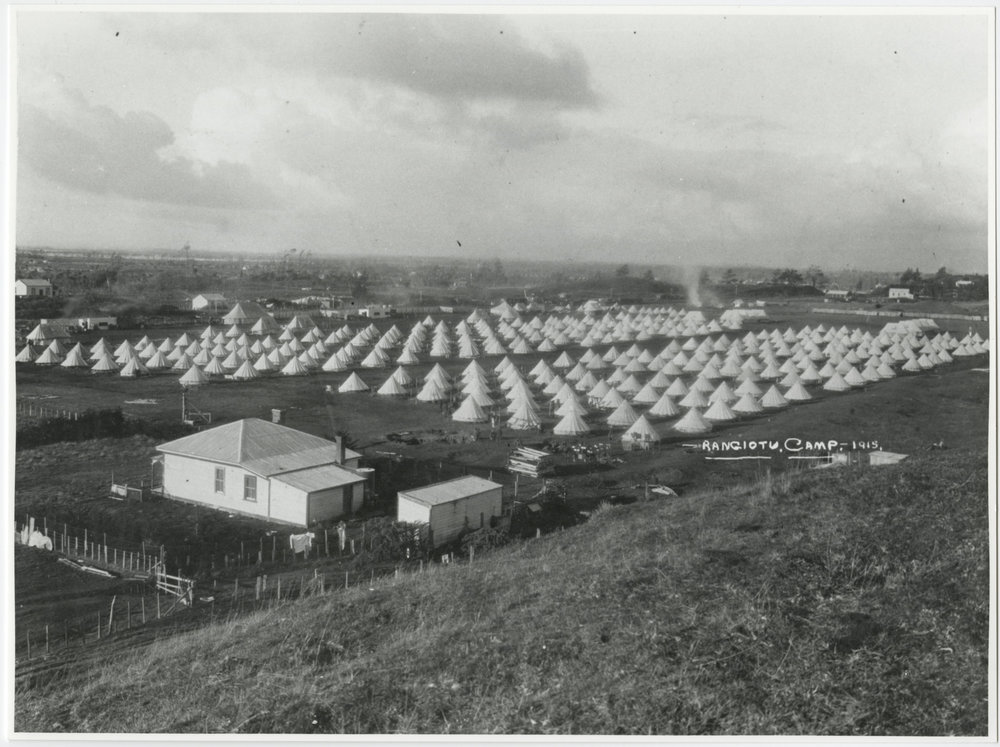 Rangiotu Camp Tents