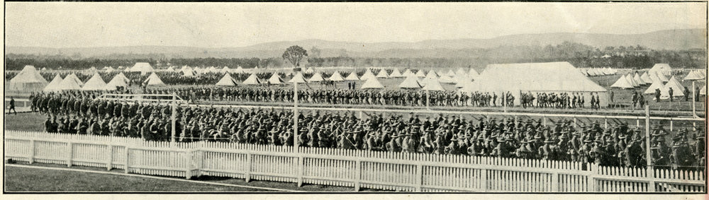Battalion Leaves Camp
