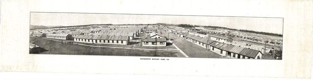 Featherston Military Camp Panorama, c 1914-1918.