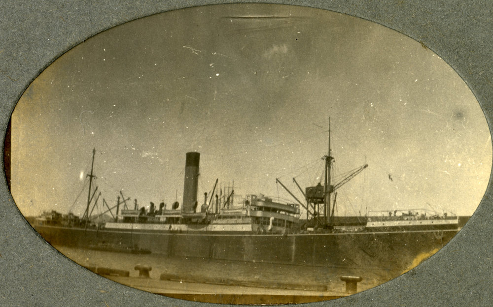 Unidentified ship