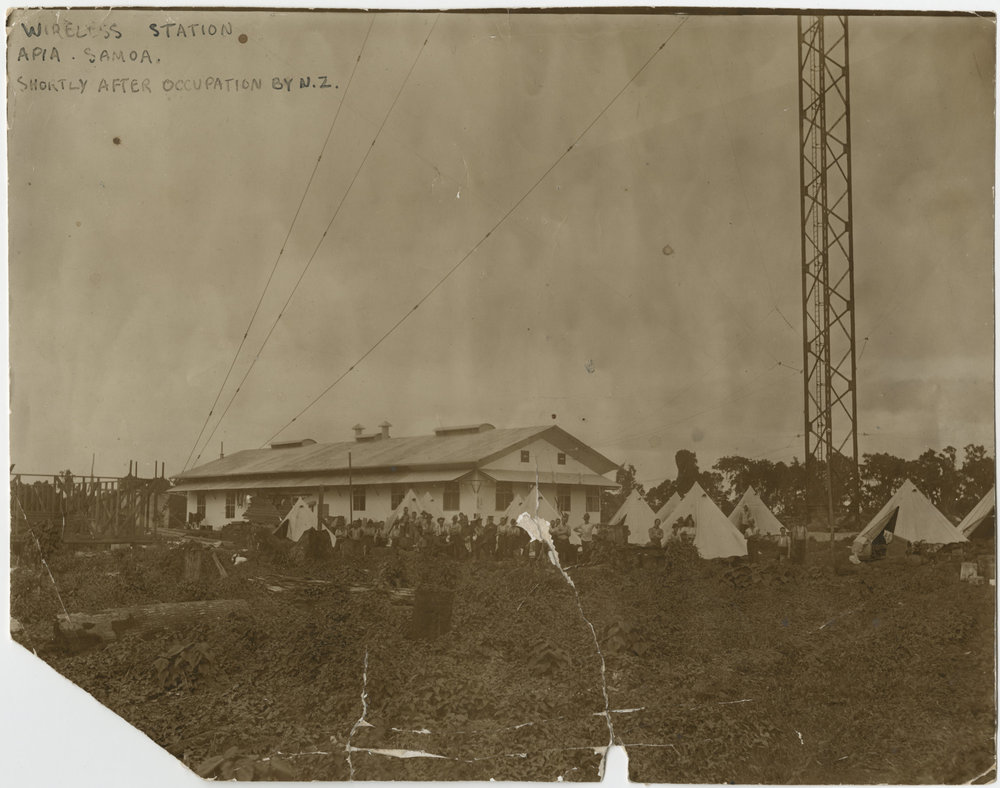 The Wireless Station, Apia
