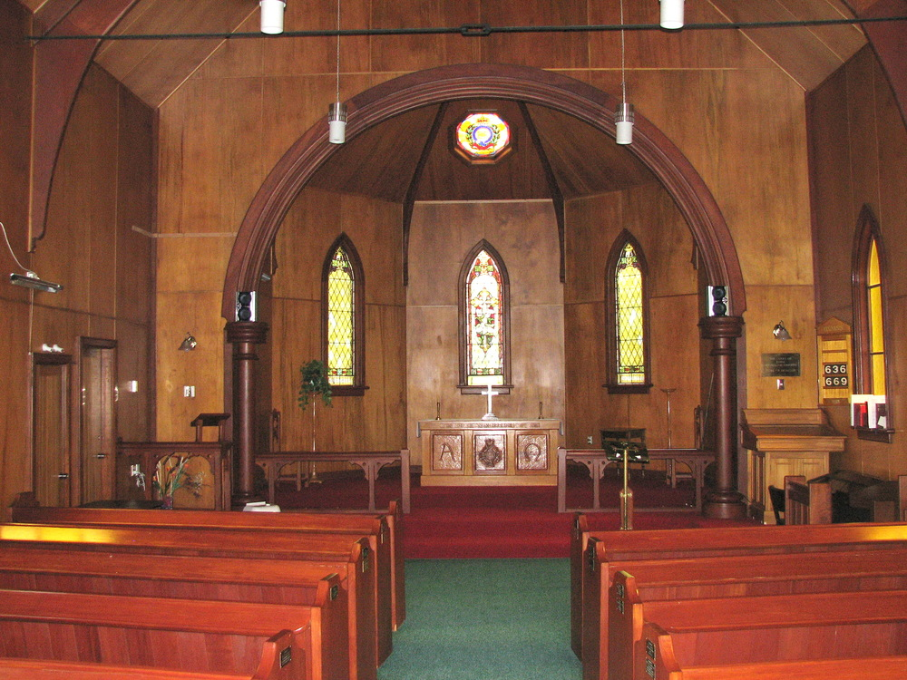 Interior of St Martin's Chapel