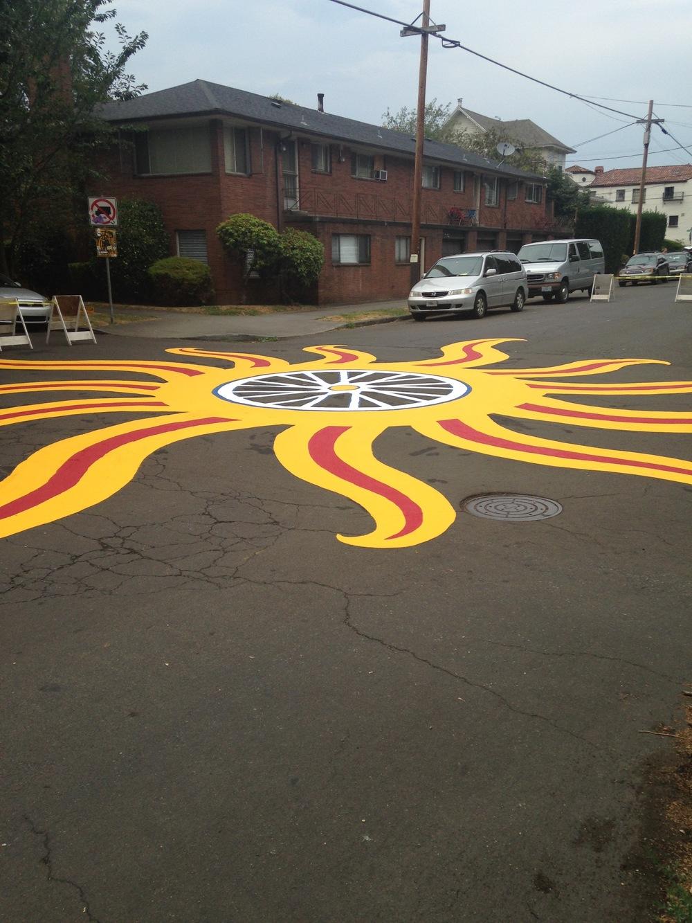 Kerns Neighborhood Intersection Repair