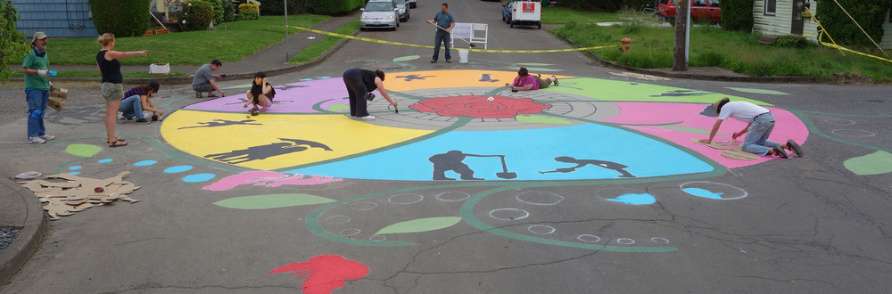 Rocky Butte Community Blooming