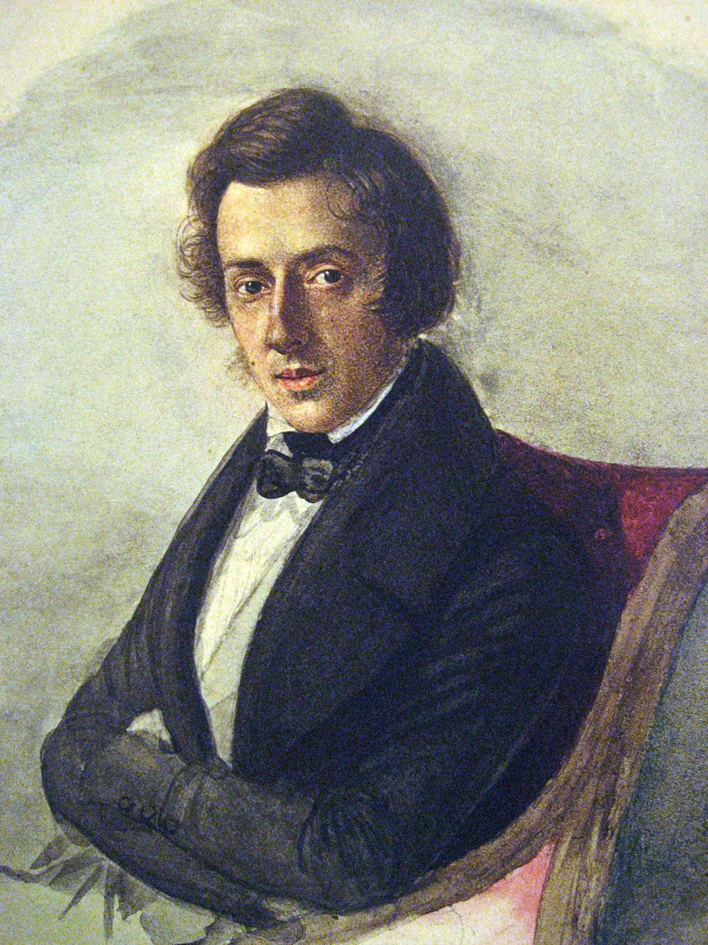 Portrait by Maria Wodzińska, 1835