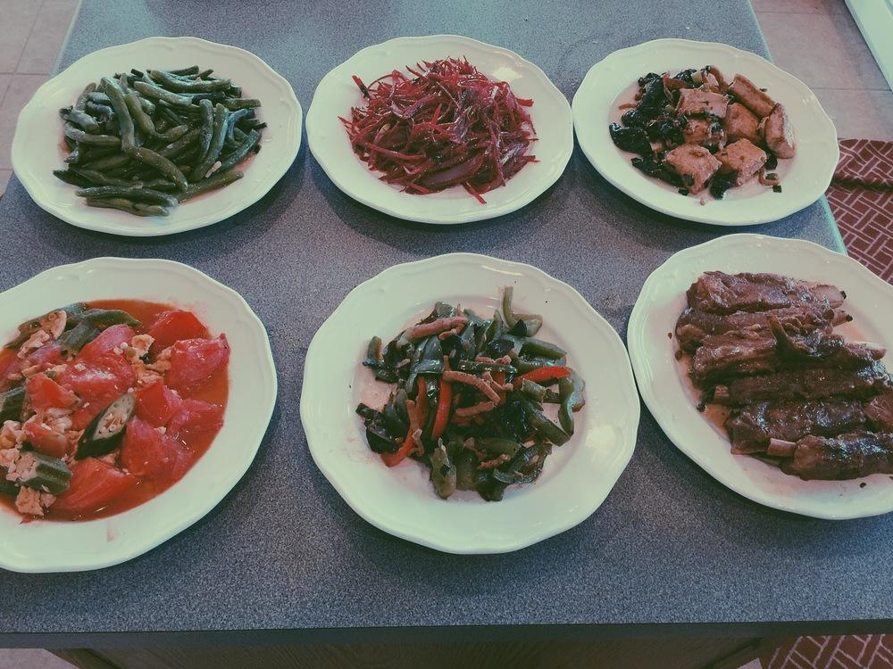 delicious .. 6 course meal O_O