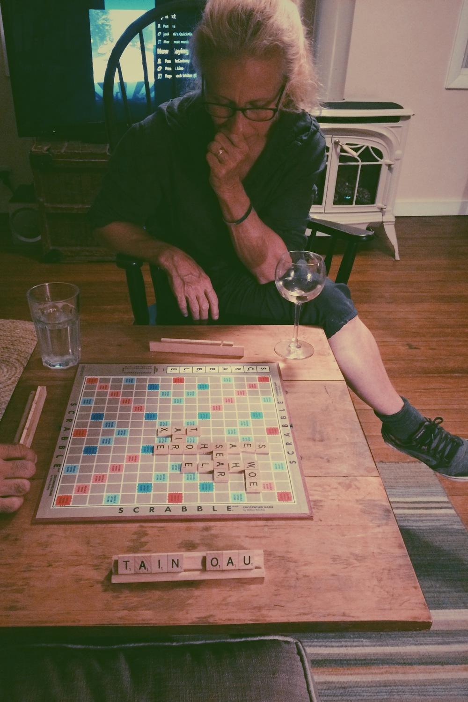 Finally! Scrabble!
