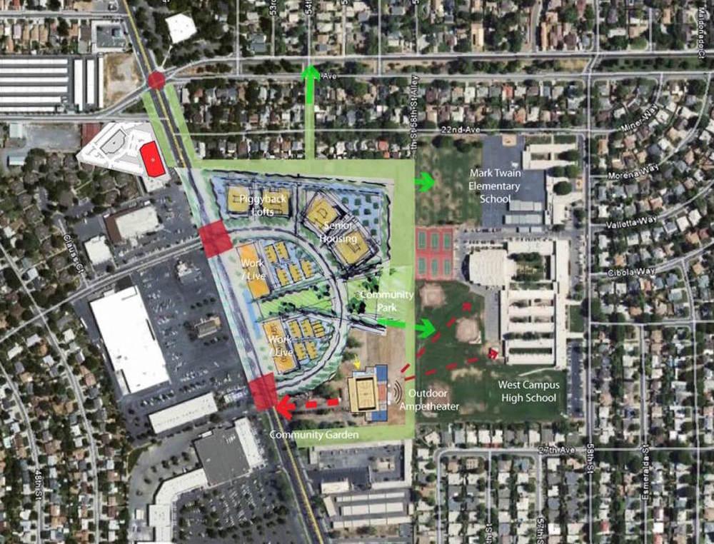 Stockton Boulevard Corridor Opportunity Area
