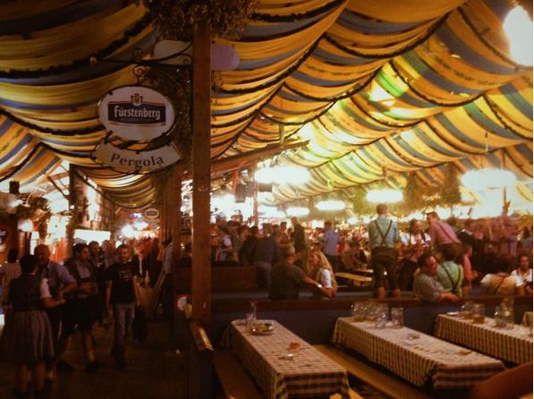The terror of Volksfest