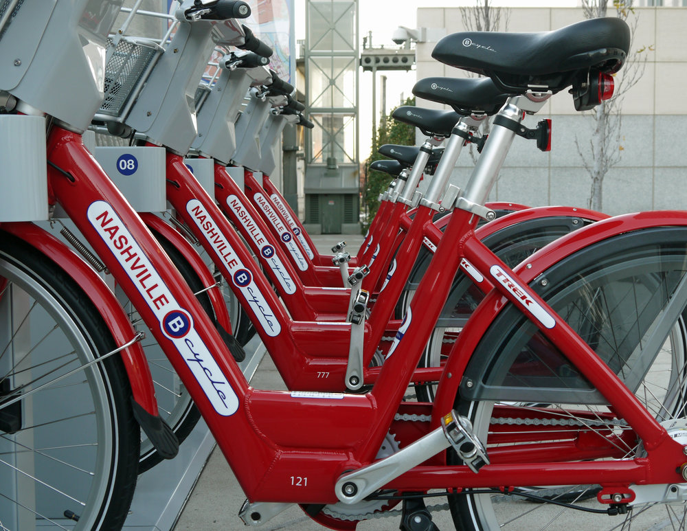 "NASHVILLE BCYCLE - COMMUNITY ENGAGEMENT CONSULTANT(2018-present)""A bike share service promoting public health through eco-friendly exercise & transportation."" LEARN MORE"