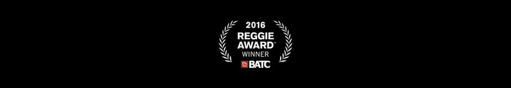 Reggie Award Winner 2016