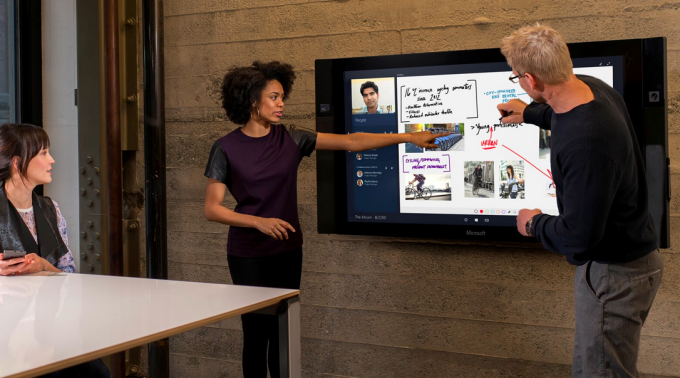 55 inch Surface Hub