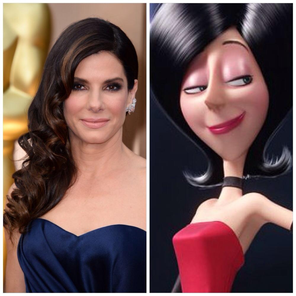 Sandra Bullock voices Scarlet Overkill