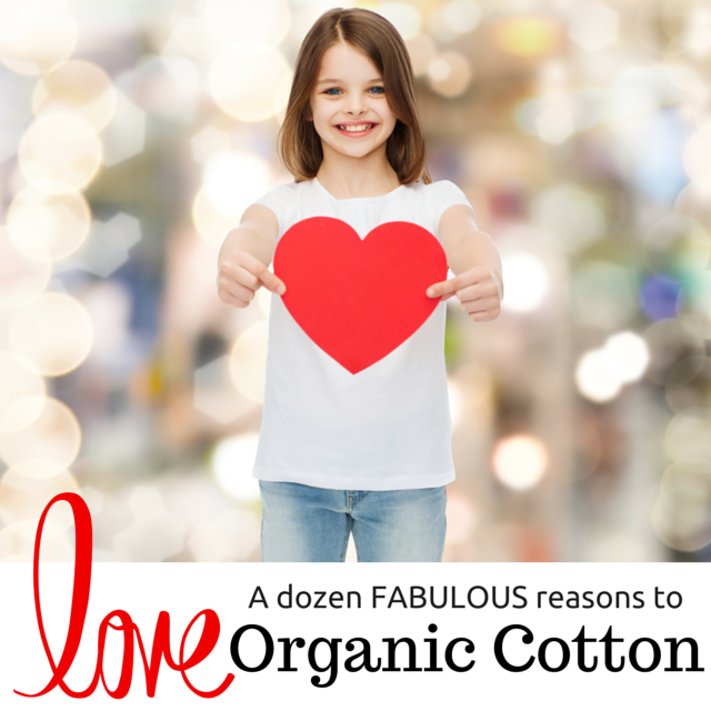 A dozen FABULOUS reasons to LOVE Organic Cotton - Moonlit Sleep