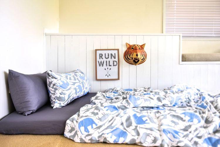Safari Doona/Quilt Cover - Single Bed — Moonlit Sleep : organic quilt cover - Adamdwight.com