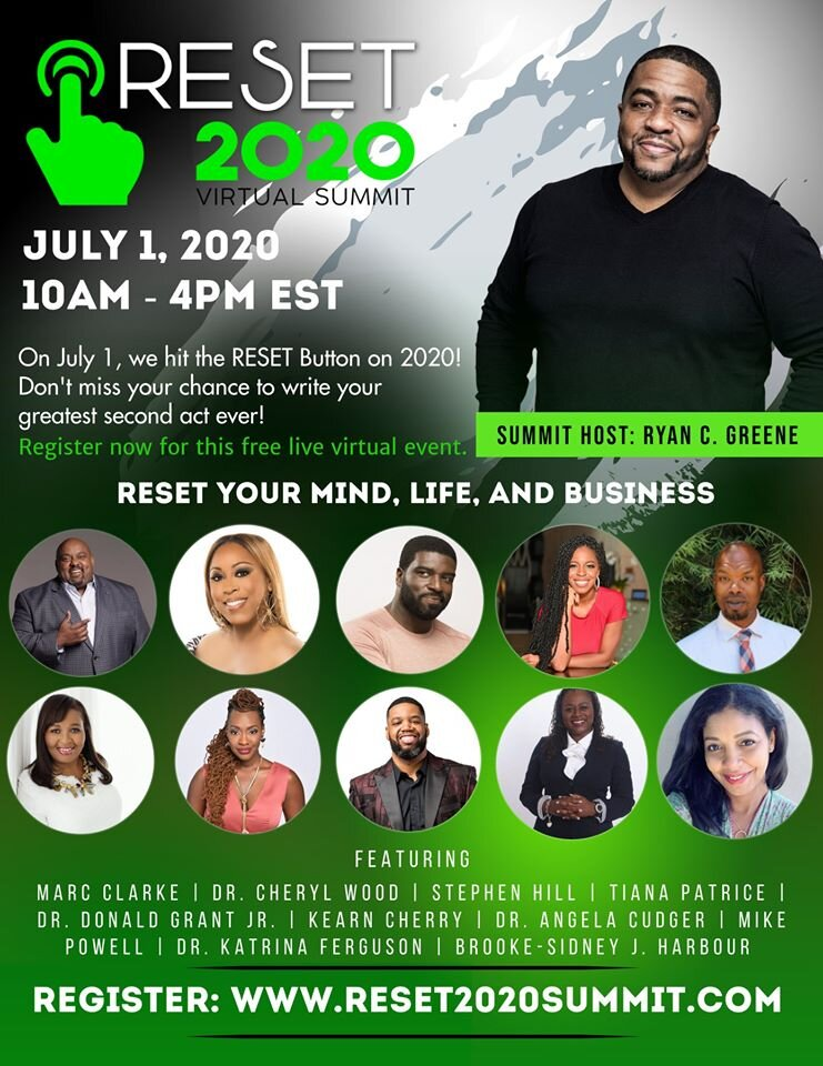 Don T Miss This Opportunity And Event To Hit The Reset Button On 2020 Brookesidney