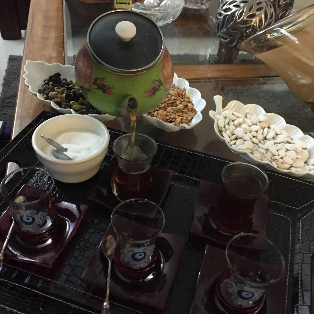 Tea with cardamom
