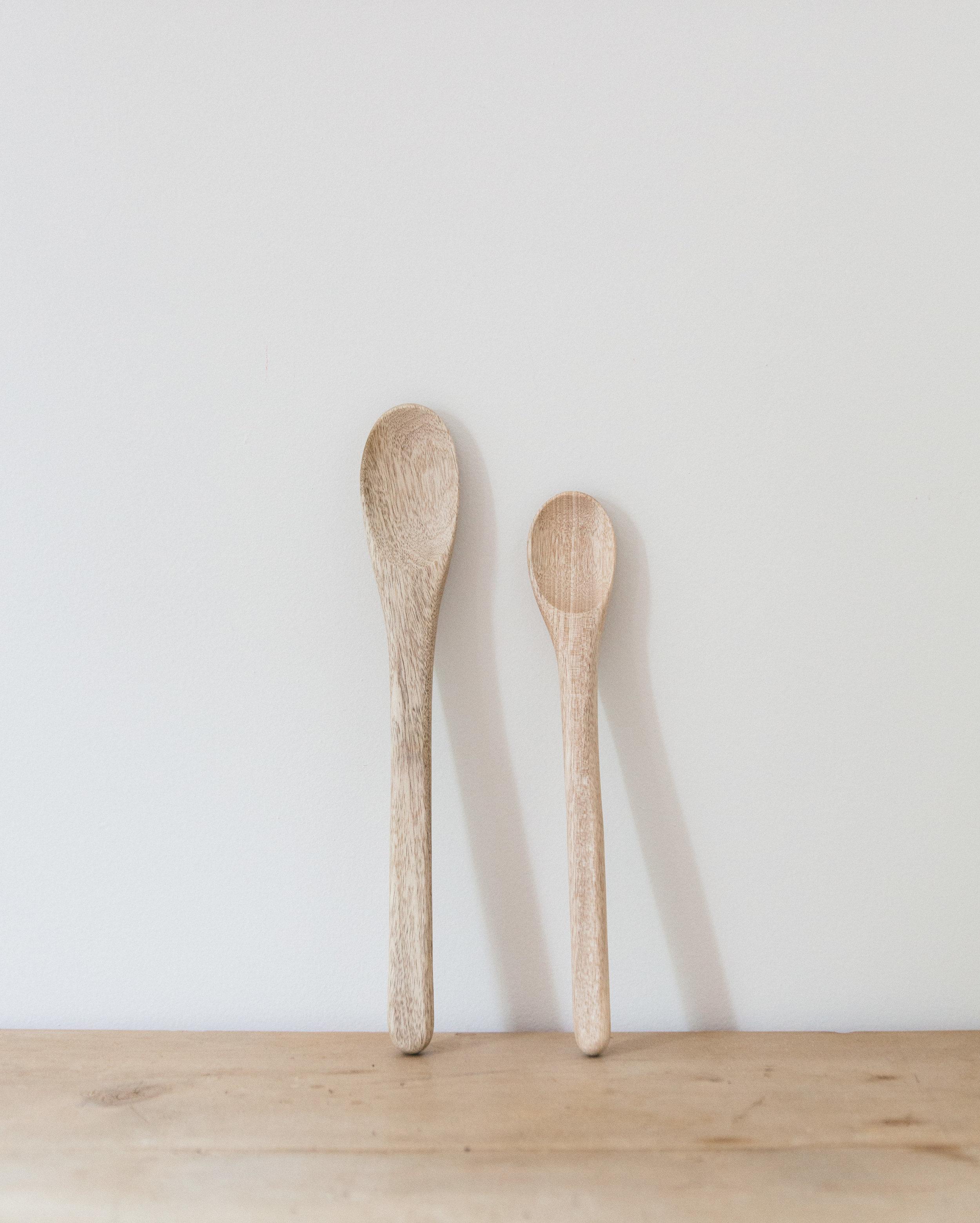 Hand Carved Myrtlewood Spoons ( Set Of 2 )