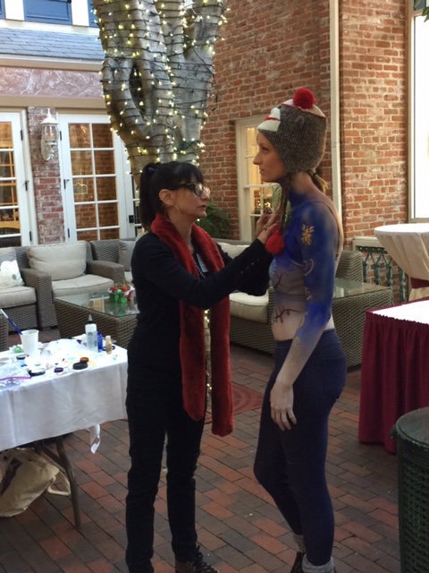 Makeup Artist & Graduate Student: Ally Swartz Miles  2016 BEAUTY SYMPOSIUM SAN DIEGO
