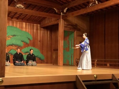 Hashitomi (kuse)  , Kita Roppeita Memorial Theatre in Tokyo, July 2018