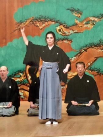 Tamura (kuse)  , Kita Roppeita Memorial Theatre in Tokyo, June 2017