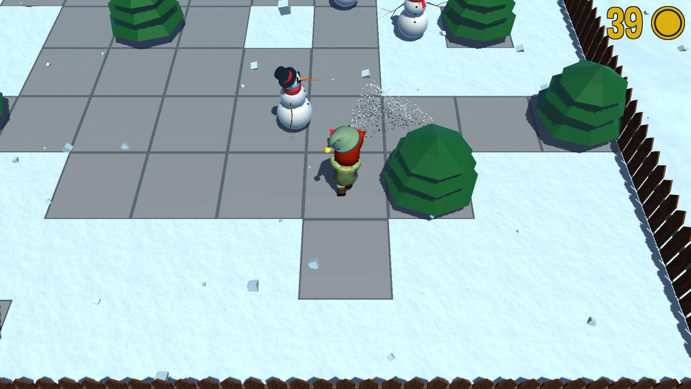 Beware of snowmen!