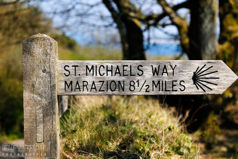 Waymark eight & half miles