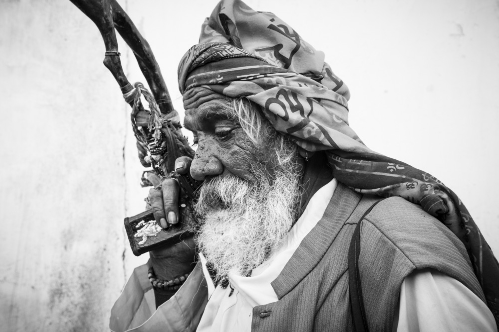 Bharwad Elder & Holy Man