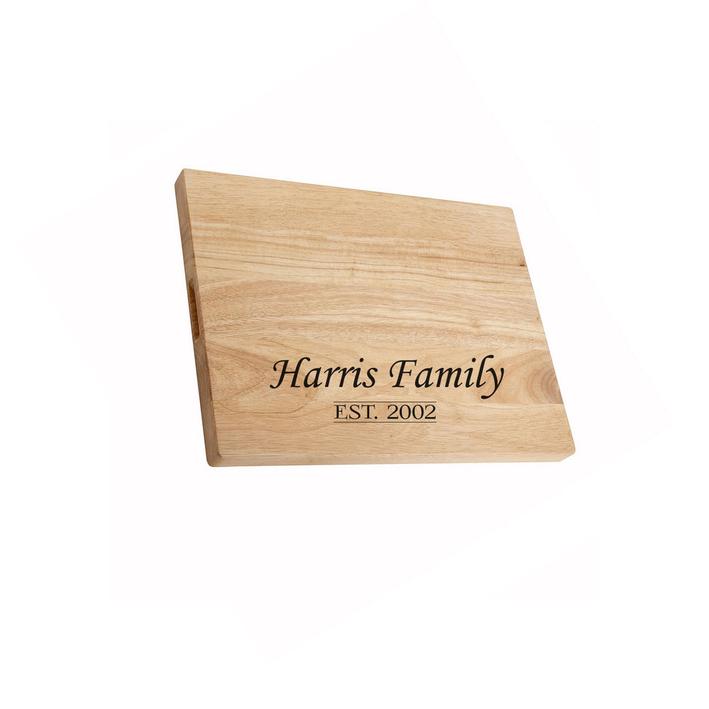 Cutting Boards   FDA approved birch cutting boards offered in a variety of sizes which can be engraved with any logo or text of choice.