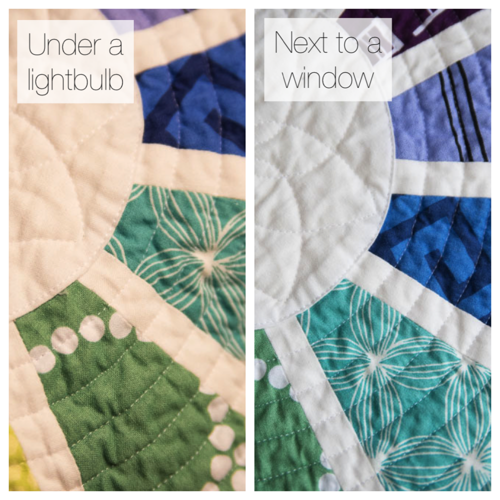Photographing Quilts-Light