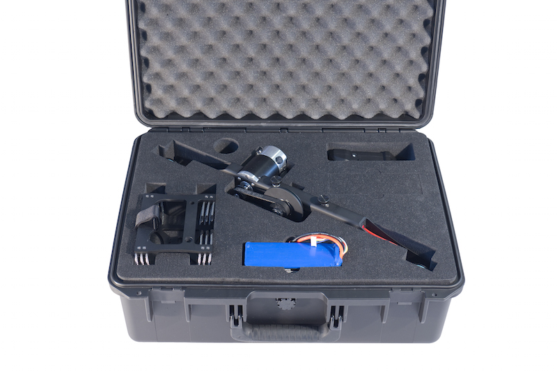 High Sight Pro cable cam Case, with cable cam line, tension, Pelican case