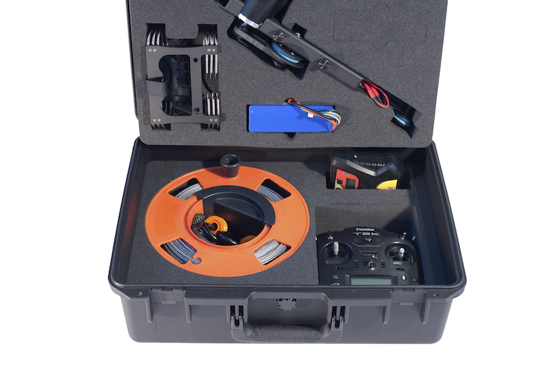 Pro Cable cam Case for Remote control cable cam system.