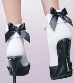 Socks-Black Bow.jpg