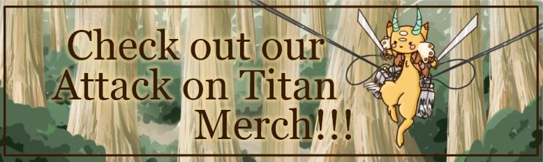Attack On Titan - Merchandise