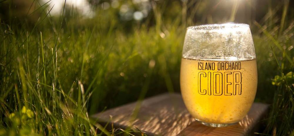 Island Orchard Hard Cider // photo credit: Island Orchard Cider House