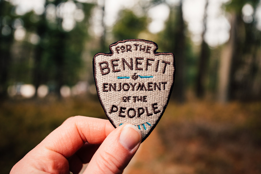 National Parks Embroidered Patch