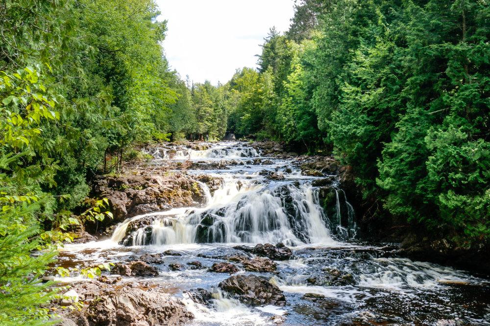 Tyler Forks Cascades, Copper Falls State Park