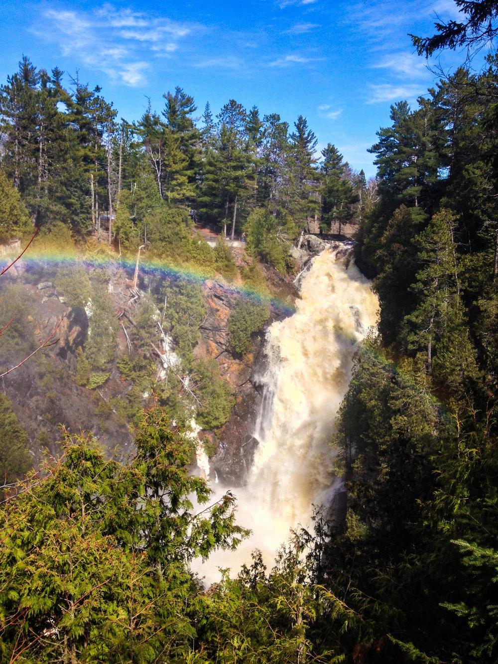 Big Manitou Falls, Pattison State Park