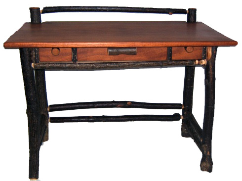 olde-hickory-log-desk
