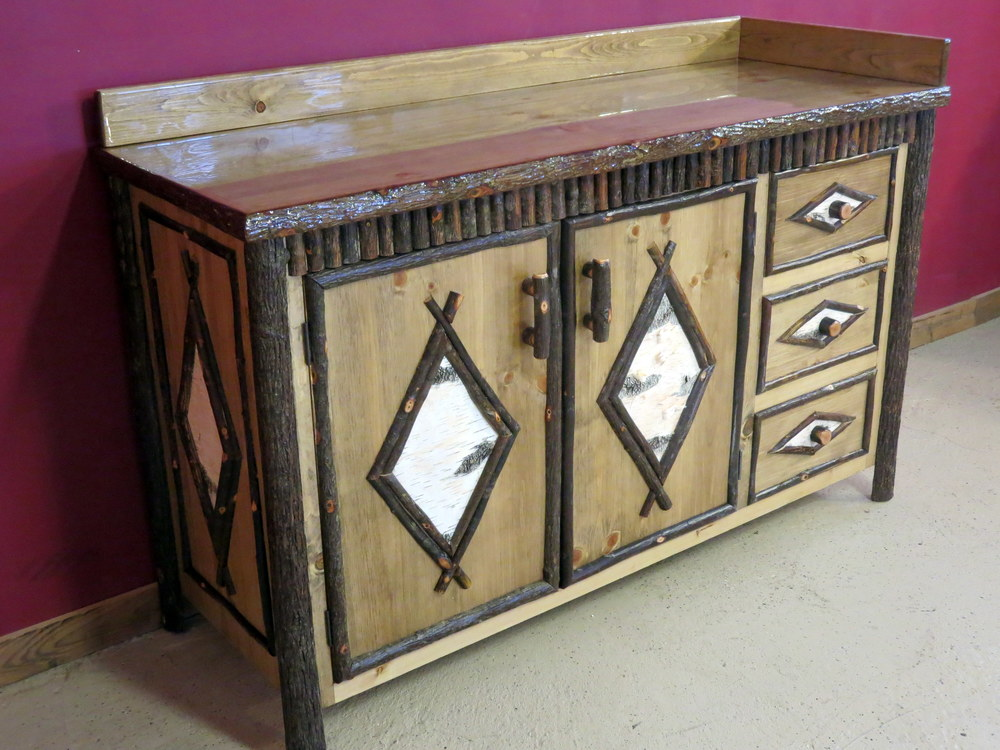 Click here to view our LOG VANITIES