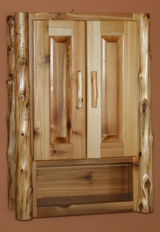 Log Toilet Cabinets