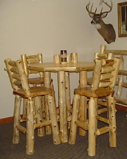 Log Pub Tables