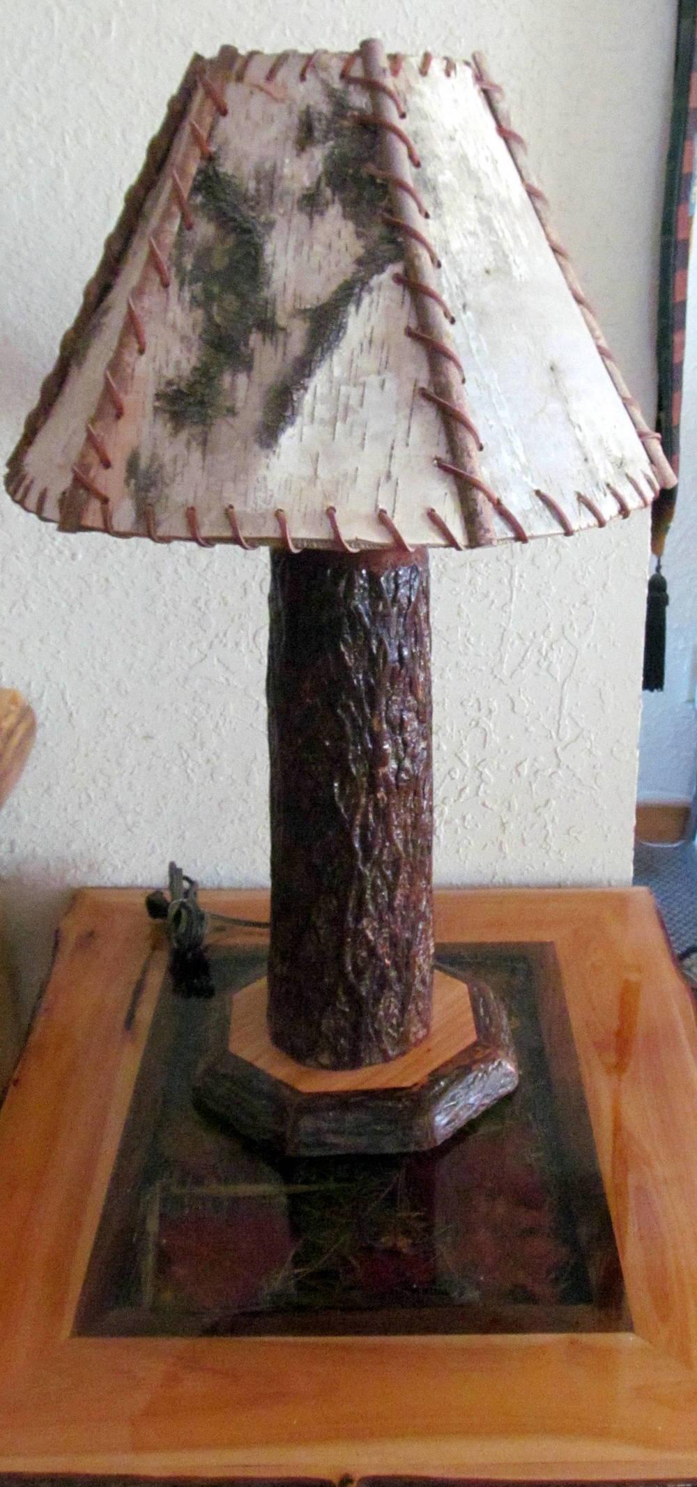 Log Lamps