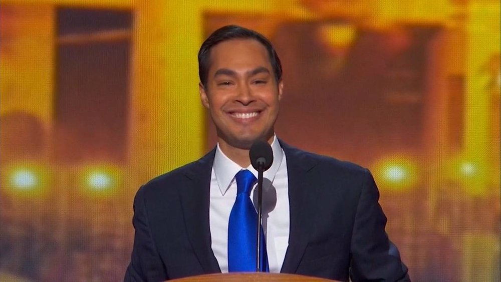 Julian Castro (D) - Julian Castro served as mayor of San Antonio, TX from to 2009-2014. From 2014-2017 he served as the U.S. Secretary of Housing and Urban Development.