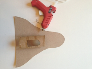 cardboard spacecraft