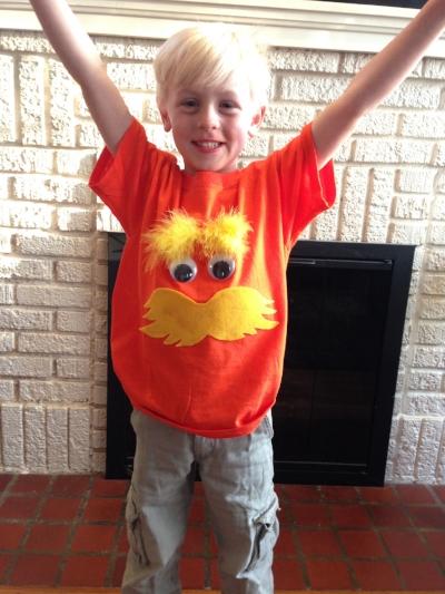 Lorax Shirt DIY