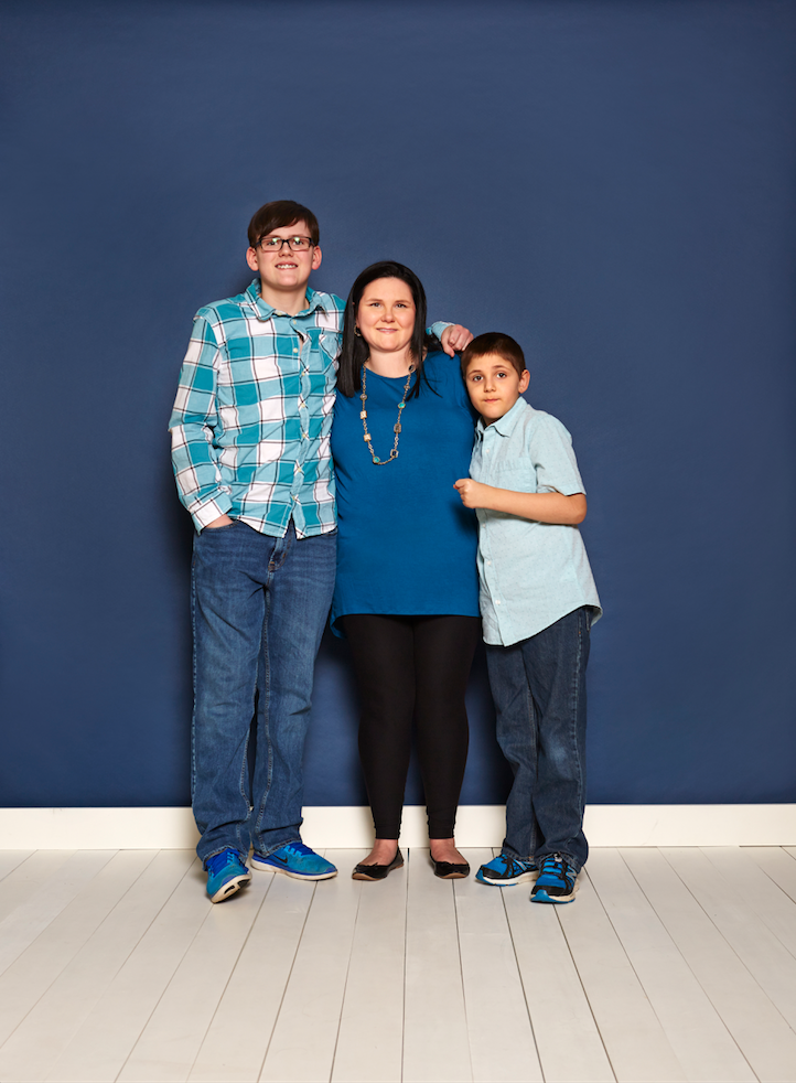 Amanda Oldham is raising two sons on the spectrum